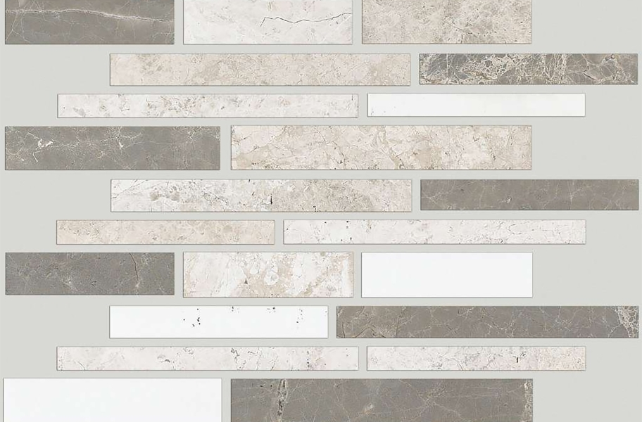 Shaw Boca Natural Stone Mosaic - Random Linear - Jetty