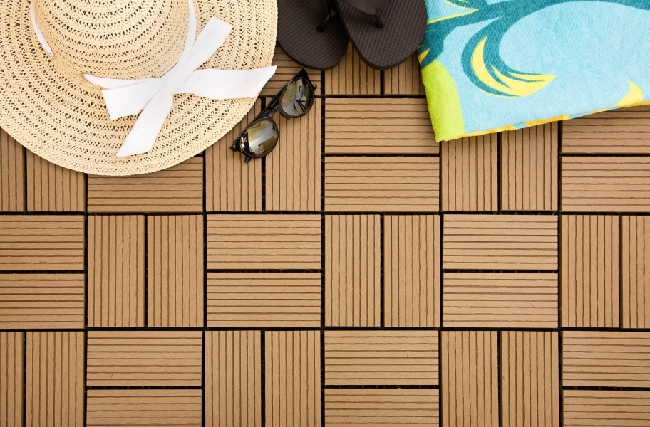 Naturesort Classic Deck Tiles (8 Slat)