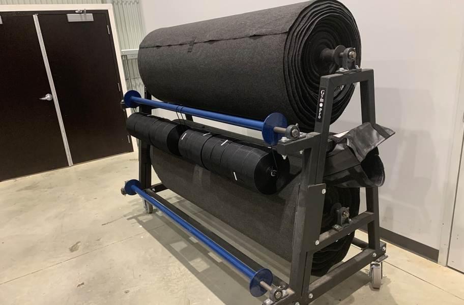 Gym Pro Eco Roll Storage Rack