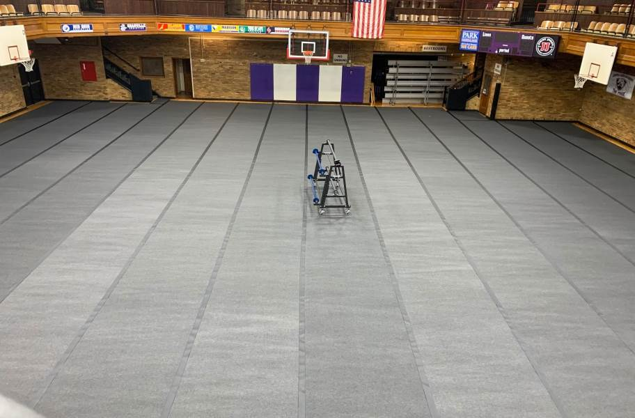 Gym Floor Cover Rolls