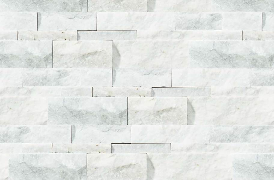 Shaw Ledgerstone Tile - Firestone Split Face Bianco Venatino