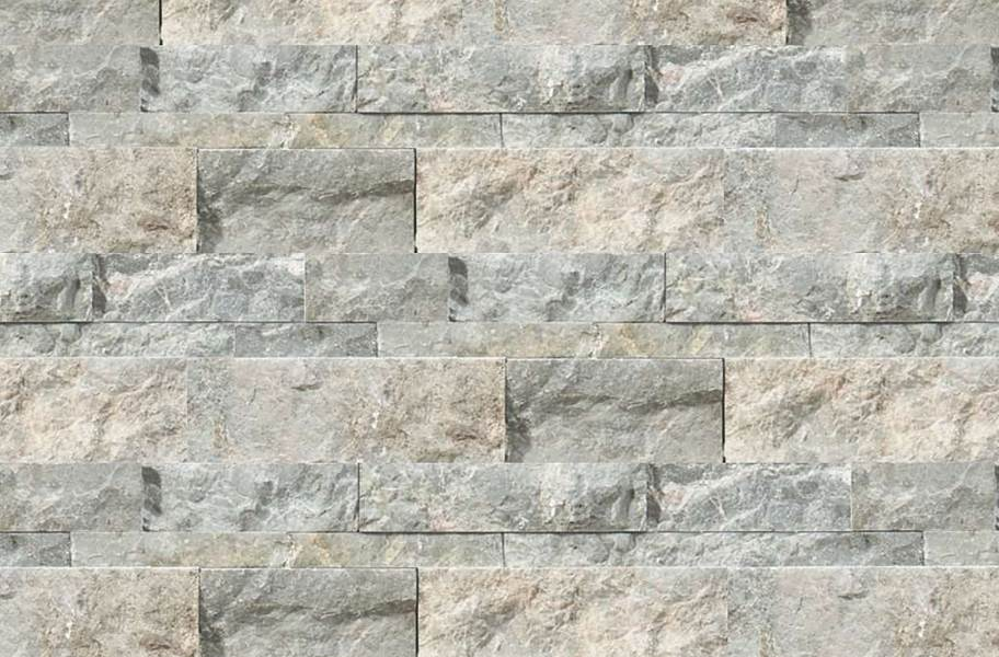 Shaw Ledgerstone Tile - Firestone Split Face Stark Carbon