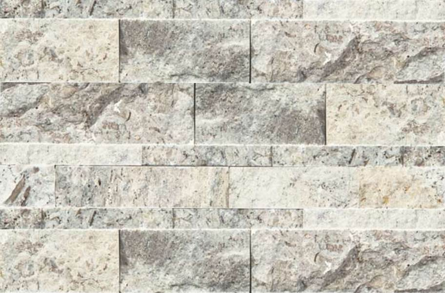 Shaw Ledgerstone Tile - Firestone Split Face Silver Ash