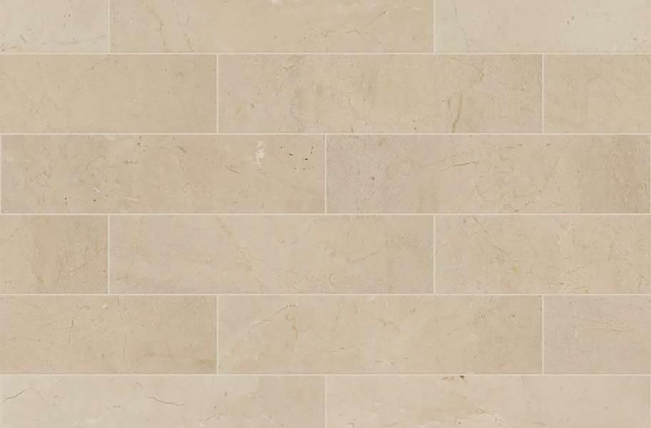 Shaw Chateau Natural Stone Subway Tile - Subway Tile Crema Marfil