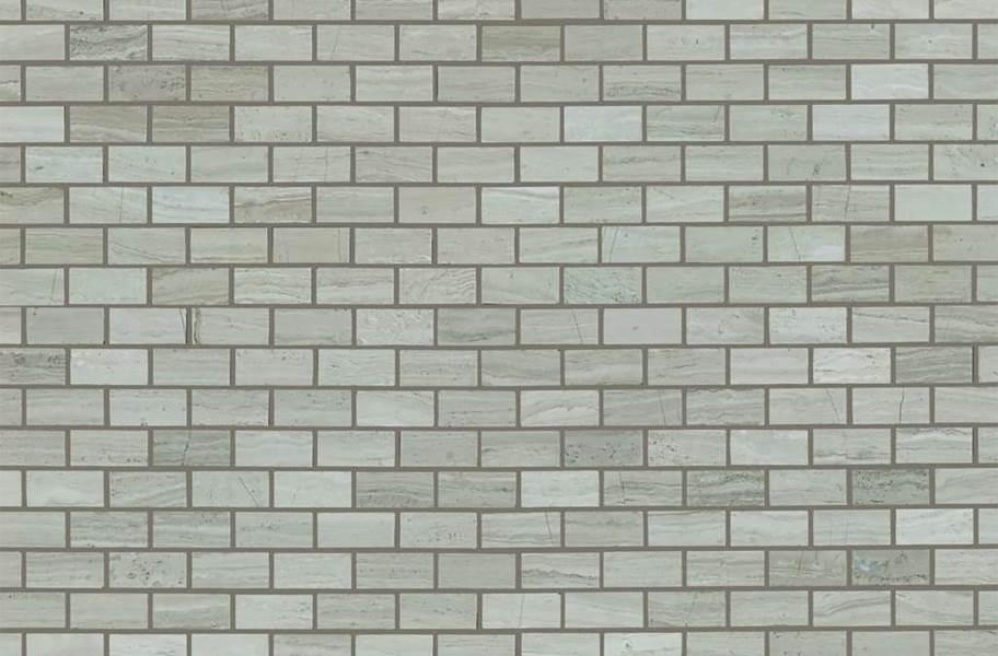Shaw Chateau Natural Stone Subway Tile - Mini Brick Rockwood