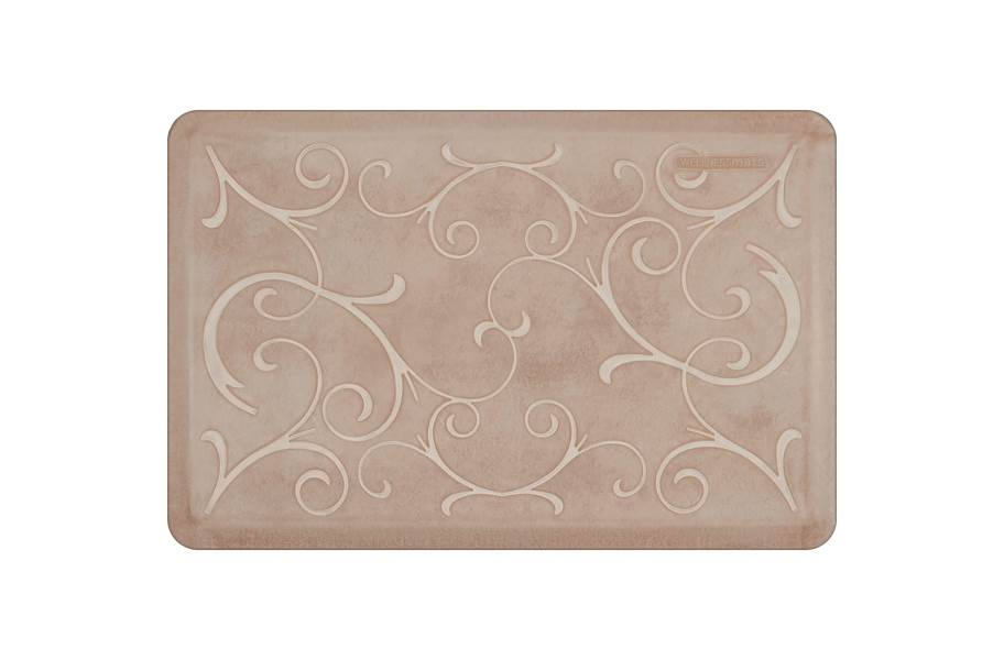 WellnessMats Designer Motif Bella Collection  - Sand Dollar
