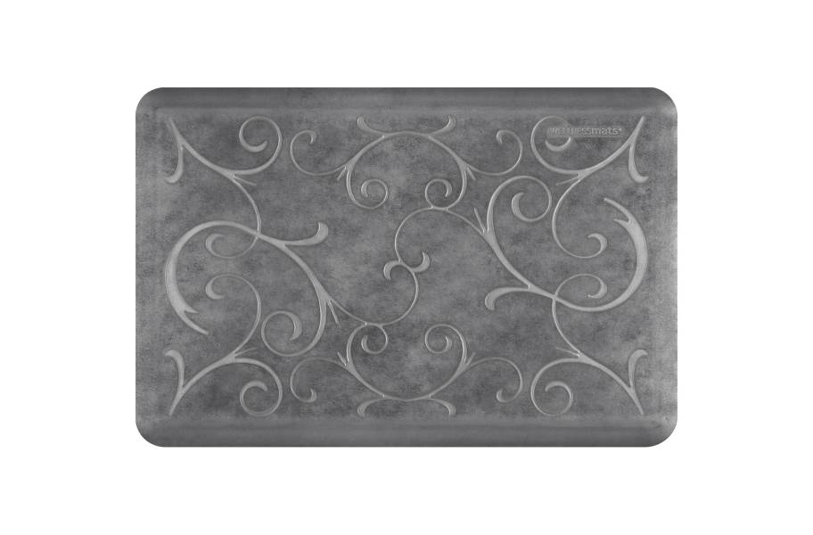 WellnessMats Designer Motif Bella Collection  - Slate