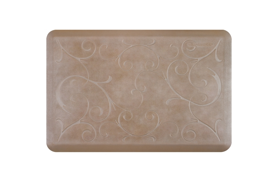 WellnessMats Designer Motif Bella Collection  - Sandstone