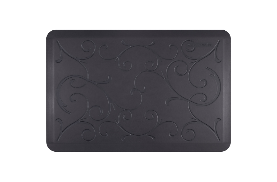 WellnessMats Designer Motif Bella Collection  - Midnight Blue