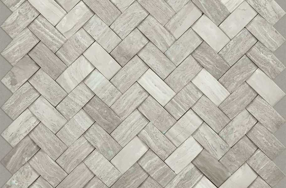 Shaw Chateau Natural Stone Woven Tile - Woven Rockwood