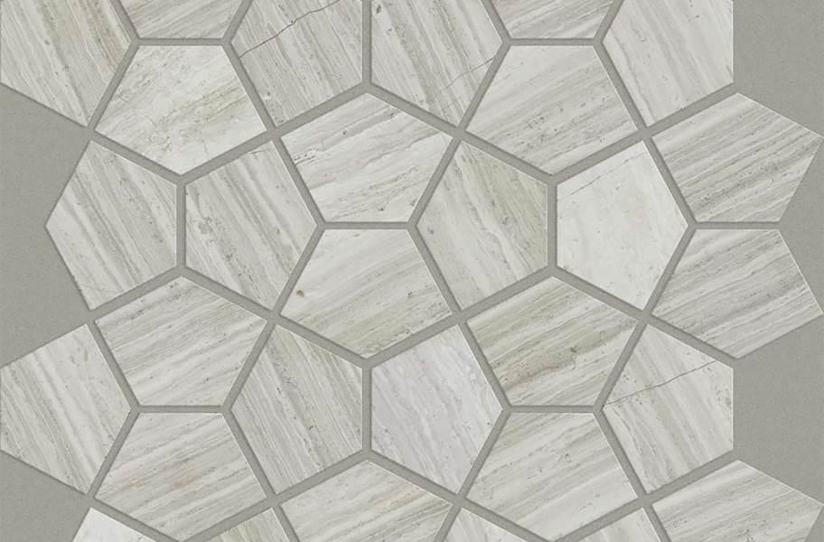 Shaw Chateau Geometrics Natural Stone Tile - Pentagon Rockwood