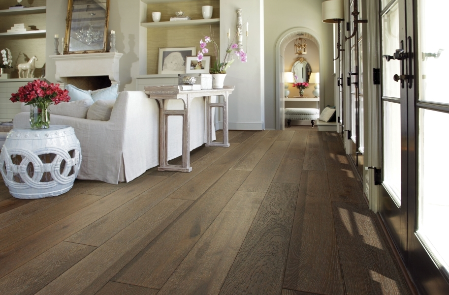 Shaw Castlewood Oak Engineered Wood - Drawbridge