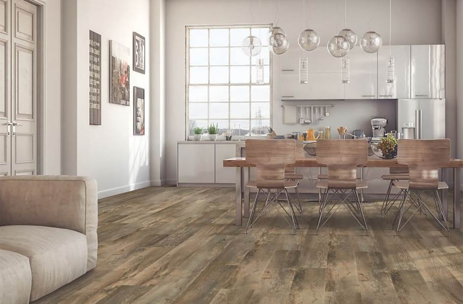 "Mohawk Dodford 7.5"" Luxury Vinyl Planks - Griffin Oak"