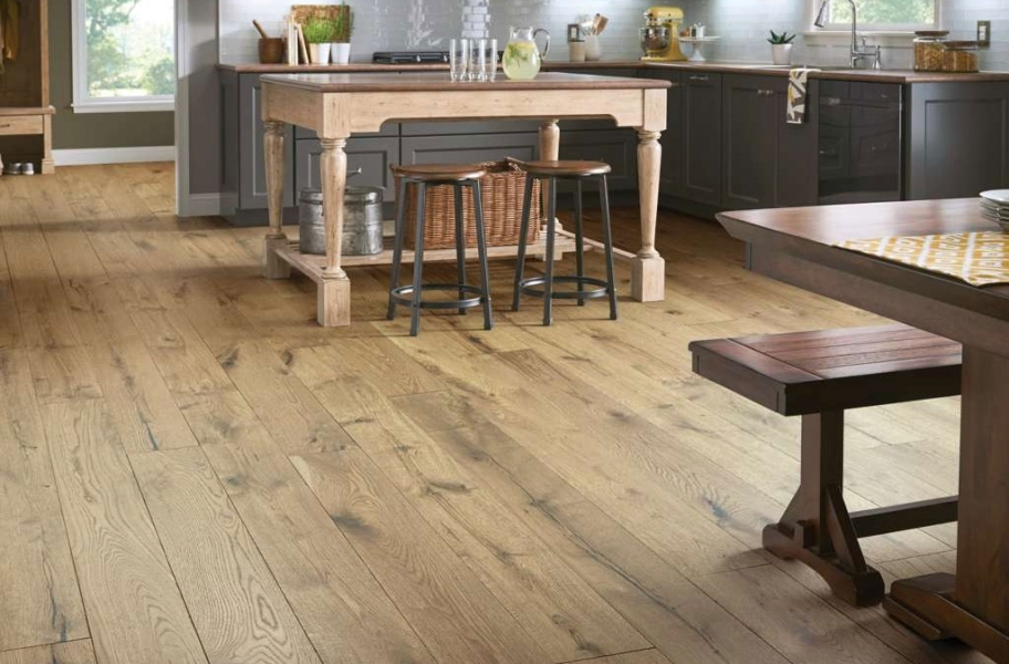 Shaw Reflections White Oak Engineered Wood - Primative