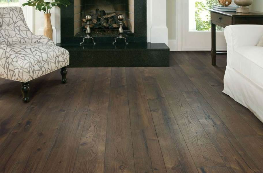 Shaw Reflections Hickory Engineered Wood - Majestic