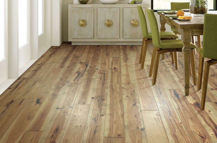 Shaw Reflections Hickory Engineered Wood - Radiance
