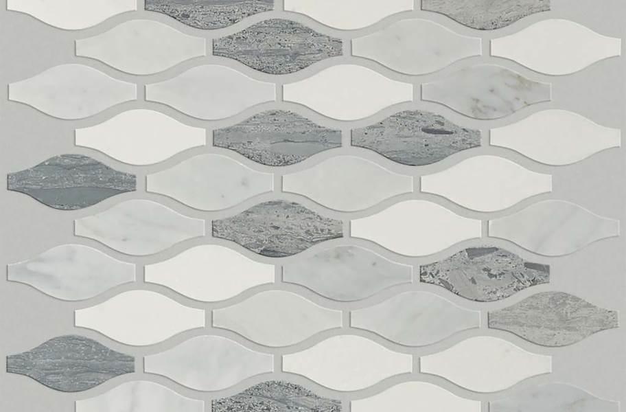 Shaw Chateau Natural Stone Ornamentals Tile - Ornament Bianco Barrara / Blue Grigio / Thassos