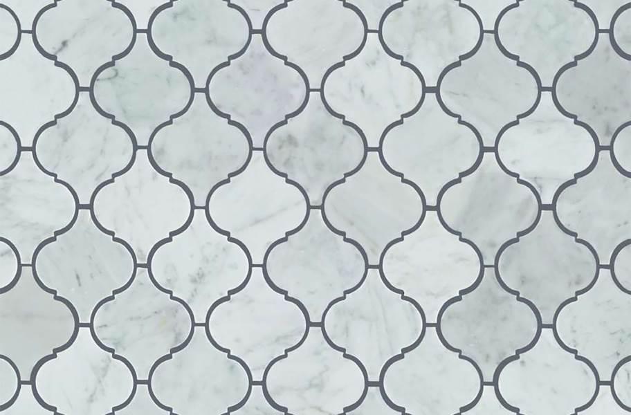 Shaw Chateau Natural Stone Ornamentals Tile - Lantern Bianco Carrara