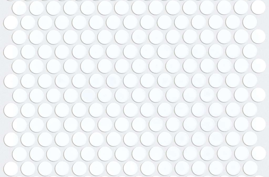 Shaw Coolidge Mosaic - Penny Round White