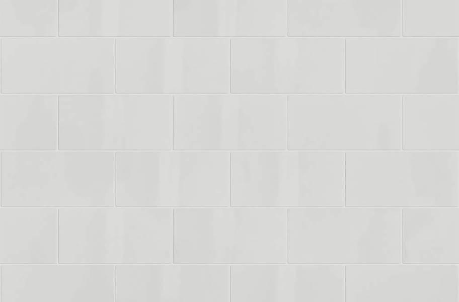 Shaw Elegance Subway Tiles - 3x6 Taupe Gloss