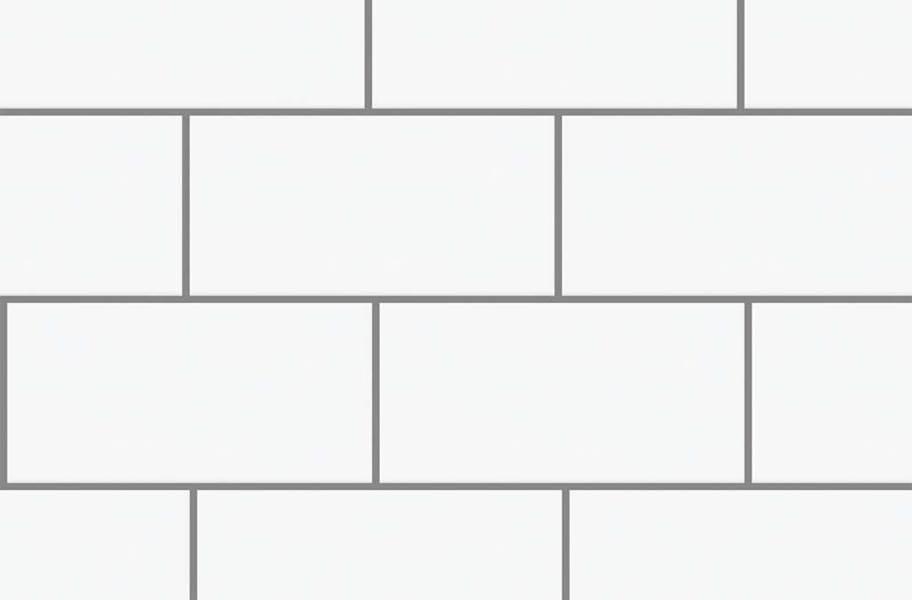 Shaw Elegance Subway Tiles - 3x6 Warm Grey Gloss