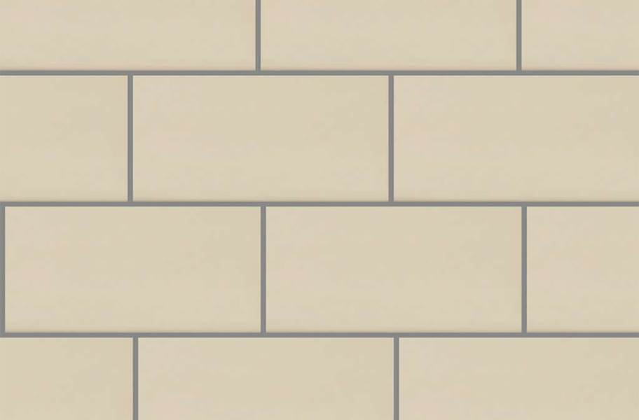 Shaw Elegance Subway Tiles - 3x6 Biscuit Gloss