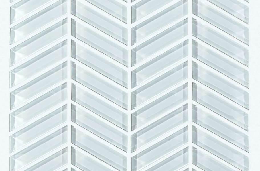 Shaw Cardinal Glass Mosaic - Skylight Chevron