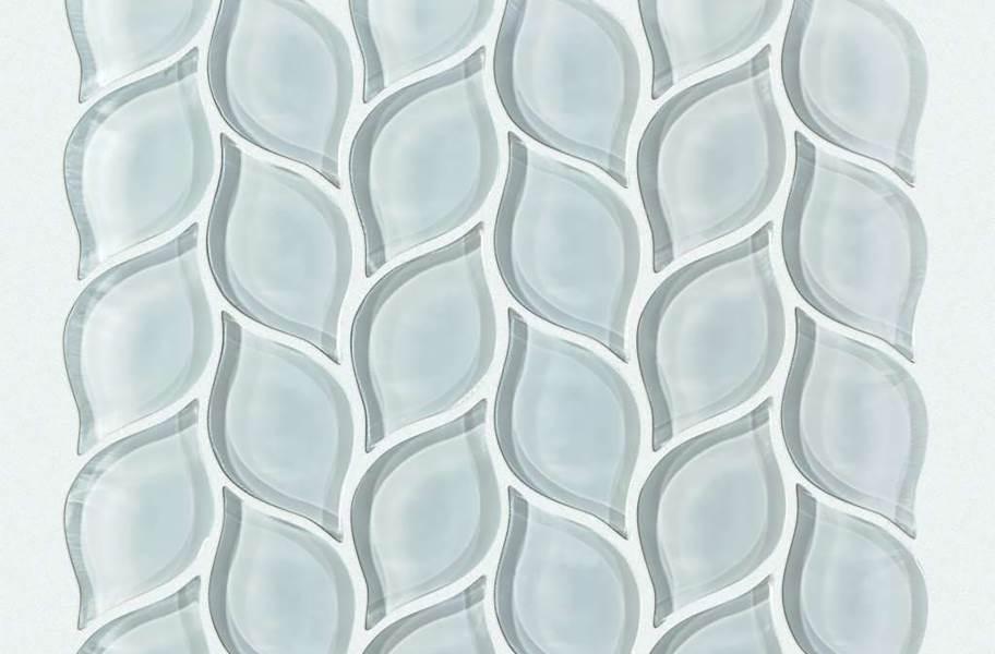 Shaw Cardinal Glass Mosaic - Cloud Petal