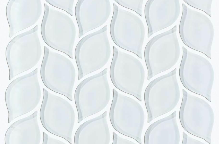 Shaw Cardinal Glass Mosaic - Ice Petal