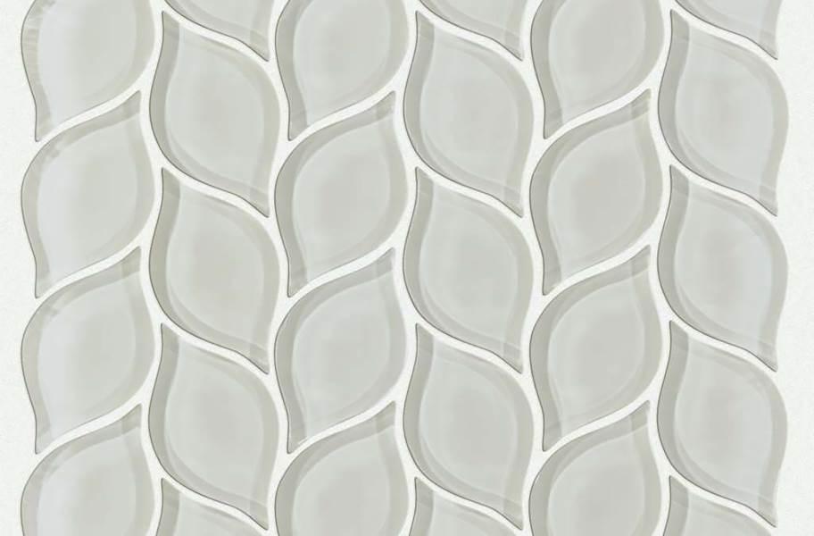 Shaw Cardinal Glass Mosaic - Mist Petal