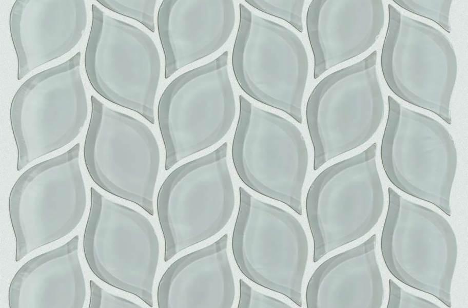 Shaw Cardinal Glass Mosaic - Shadow Petal