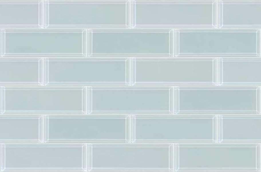 Shaw Cardinal Subway Tile - 3x9 Bevel Cloud