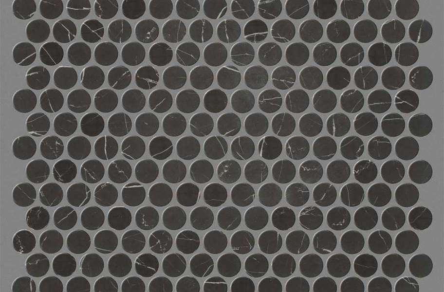 Shaw Gala Glass Mosaic - Penny Black Tie
