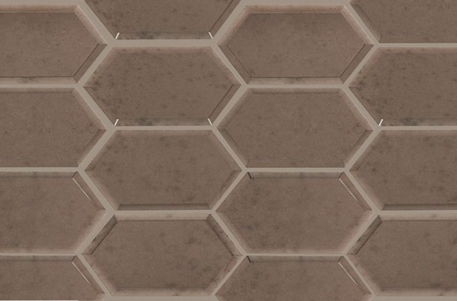 Shaw Lucerne Glass Mosaic - Antique Bronze