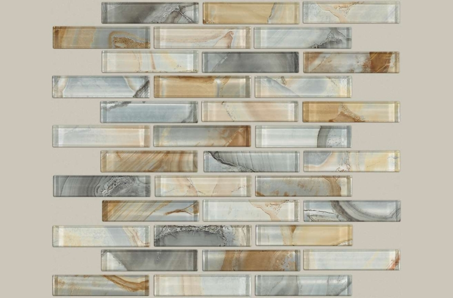 Shaw Mercury Glass Mosaic - Gilt