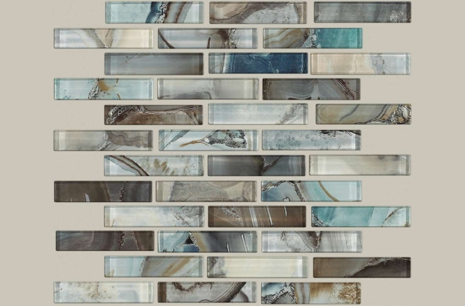 Shaw Mercury Glass Mosaic - Mica