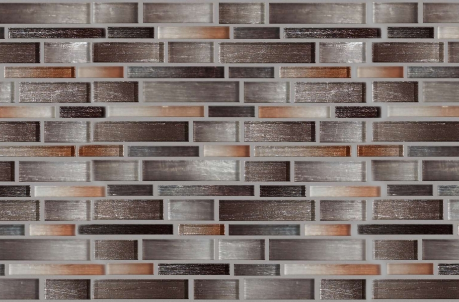 Shaw Silverton Glass Mosaic - Copper