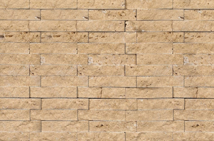 Shaw Split Face Natural Stone Mosaic - Noce