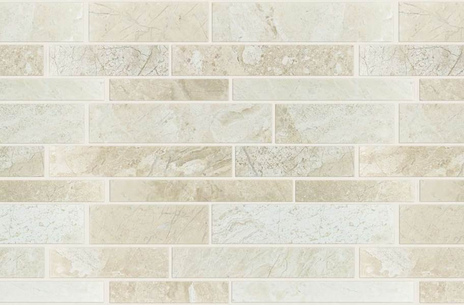 Shaw Rio Natural Stone Mosaic - Linear Impero Reale