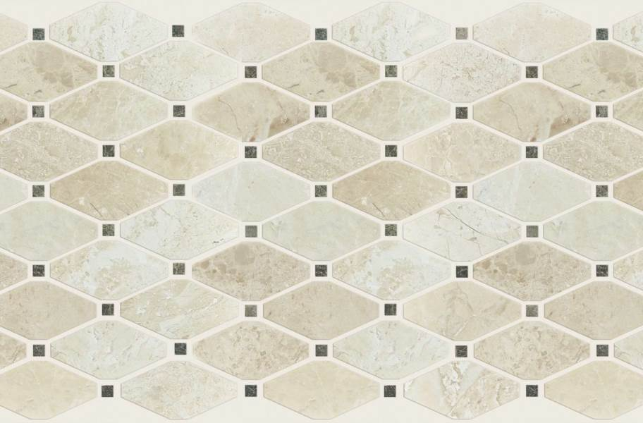 Shaw Rio Natural Stone Mosaic - Diamond Imperio Reale