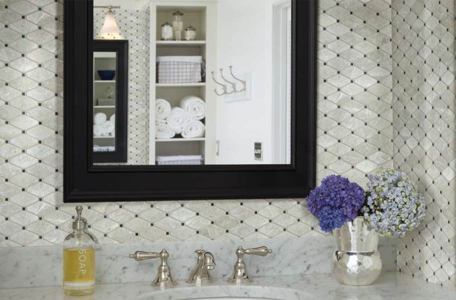 Shaw Rio Natural Stone Mosaic - Diamond Ritz Grey