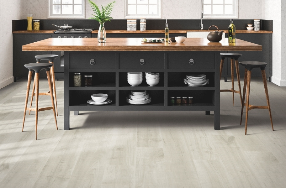 12mm Mohawk Hartwick Waterproof Laminate - Urban Mist Maple