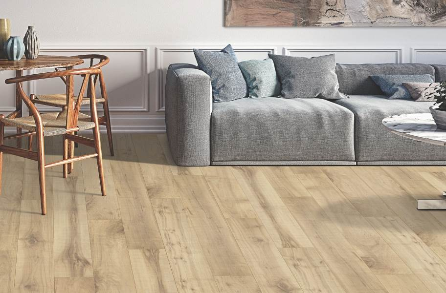 12mm Mohawk Hartwick Waterproof Laminate - Beigewood Maple