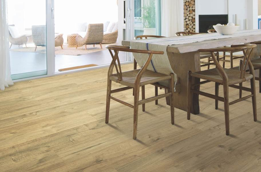 12mm Mohawk Briarfield Waterproof Laminate  - Sunbleached Oak