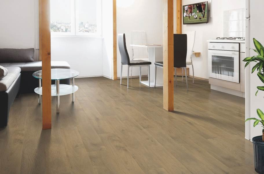 12mm Mohawk Southbury Waterproof Laminate - Medieval Gray
