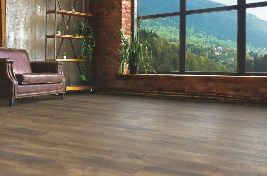 12mm Mohawk Crest Haven Waterproof Laminate - Summit Oak