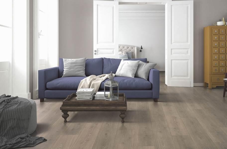 12mm Mohawk Boardwalk Waterproof Laminate - Beachwood