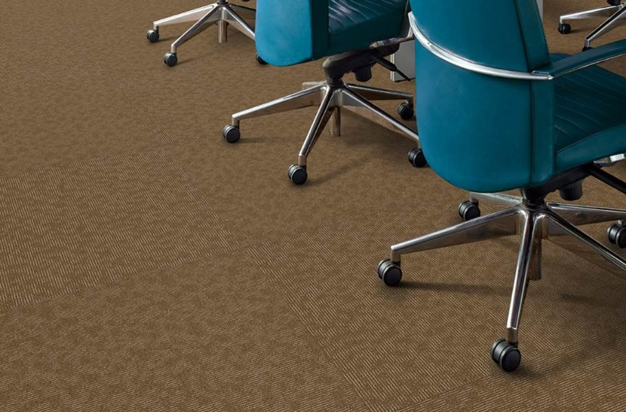 Shaw Ledger Carpet Tile - Asset