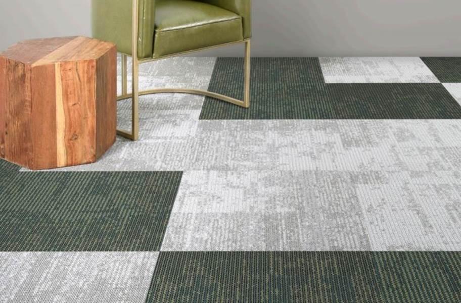 EF Contract Artisan Carpet Tiles - Moleskin & Beryl