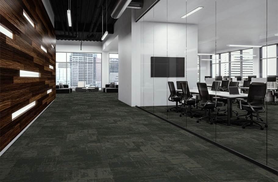 EF Contract Artisan Carpet Tiles - Foliage